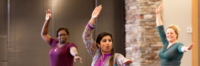 Bollywood Class at Wolf Trap