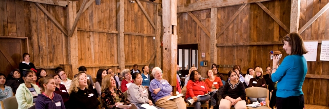Professional Development Workshop at Wolf Trap