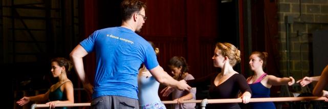 Trey McIntyre Teaching Master Ballet Class