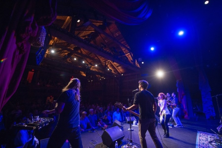 A performer's view of The Barns