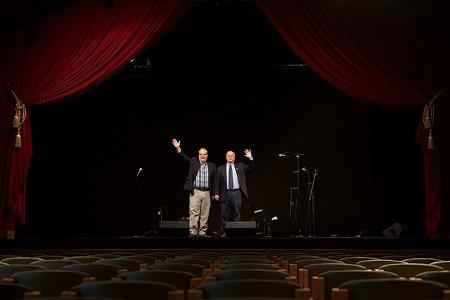 Bob Grimes and Garry Sikora