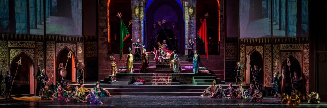 Caracalla Dance Theatre performs One Thousand and One Nights