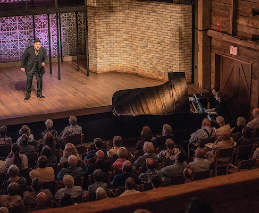 A Wolf Trap Opera artist sings at The Barns.