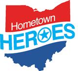 Hometown Heroes Ohio logo.